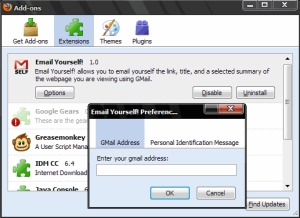 Email Yourself! 1.0