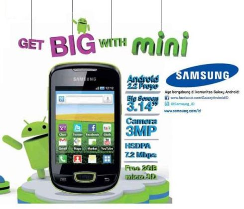 Samsung Galaxy Mini S5570 Android