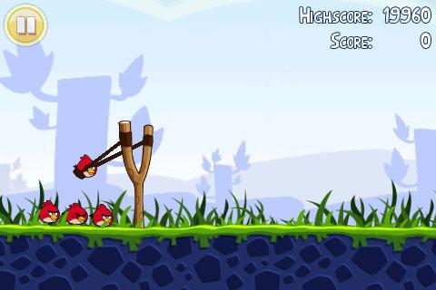 Angry Birds juga ada di ANDROID MARKET