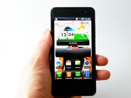 LG optimus 2X, dengan Prosesor Dual-Core NVidia Tegra 2