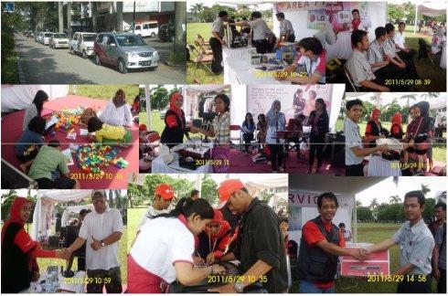 Gelegar CSR Servis LG untuk Anda : BATUNUNGGAL, Bandung