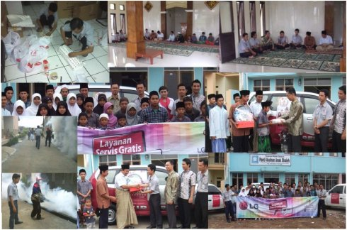 Gelegar CSR Servis LG untuk Anda : PANTI ASUHAN ANAK SHALEH, Bandung