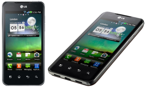 Android version 2.2 LG optimus 2x