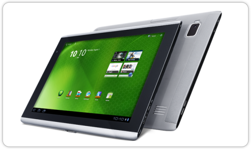 Acer ICONIA Tab A500 Tablet Android Tegra 2